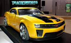 Camaro Bumblebee Accessories